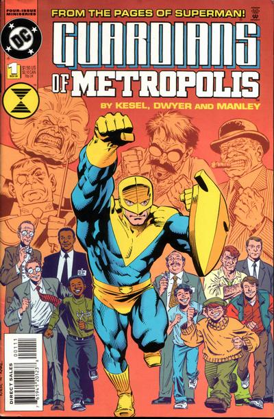 Guardians of Metropolis Vol 1 1