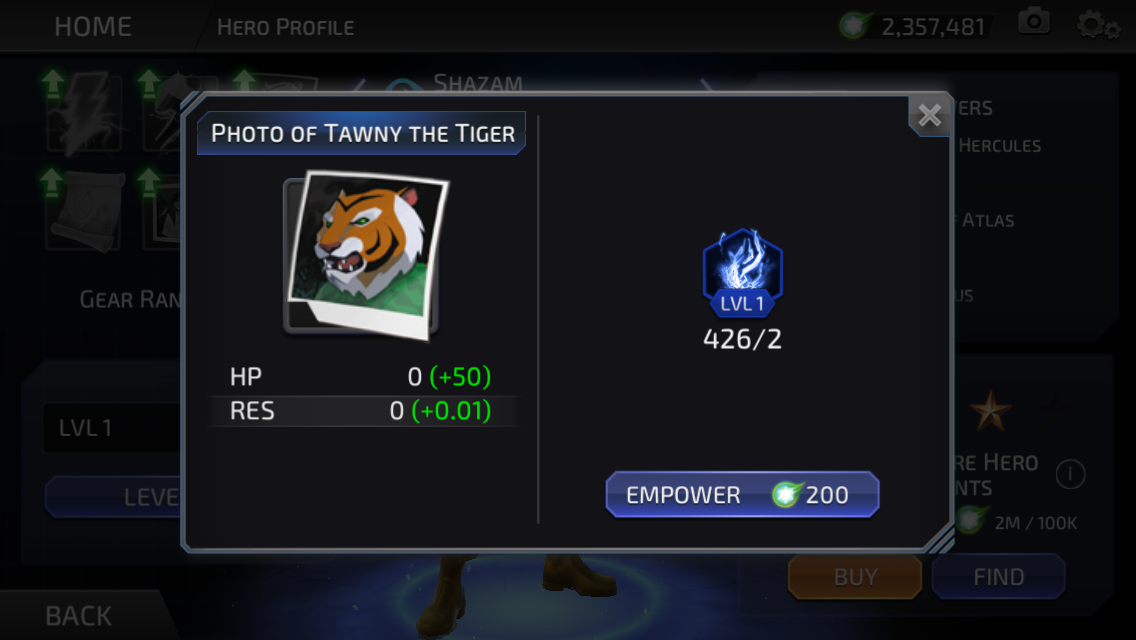 Tawky Tawny (DC Legends)