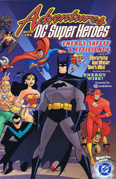 Adventures with the DC Super-Heroes: Energy Safety & Efficiency