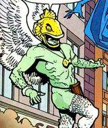 Aquahawk Dark Knight of the Golden Kingdom 001