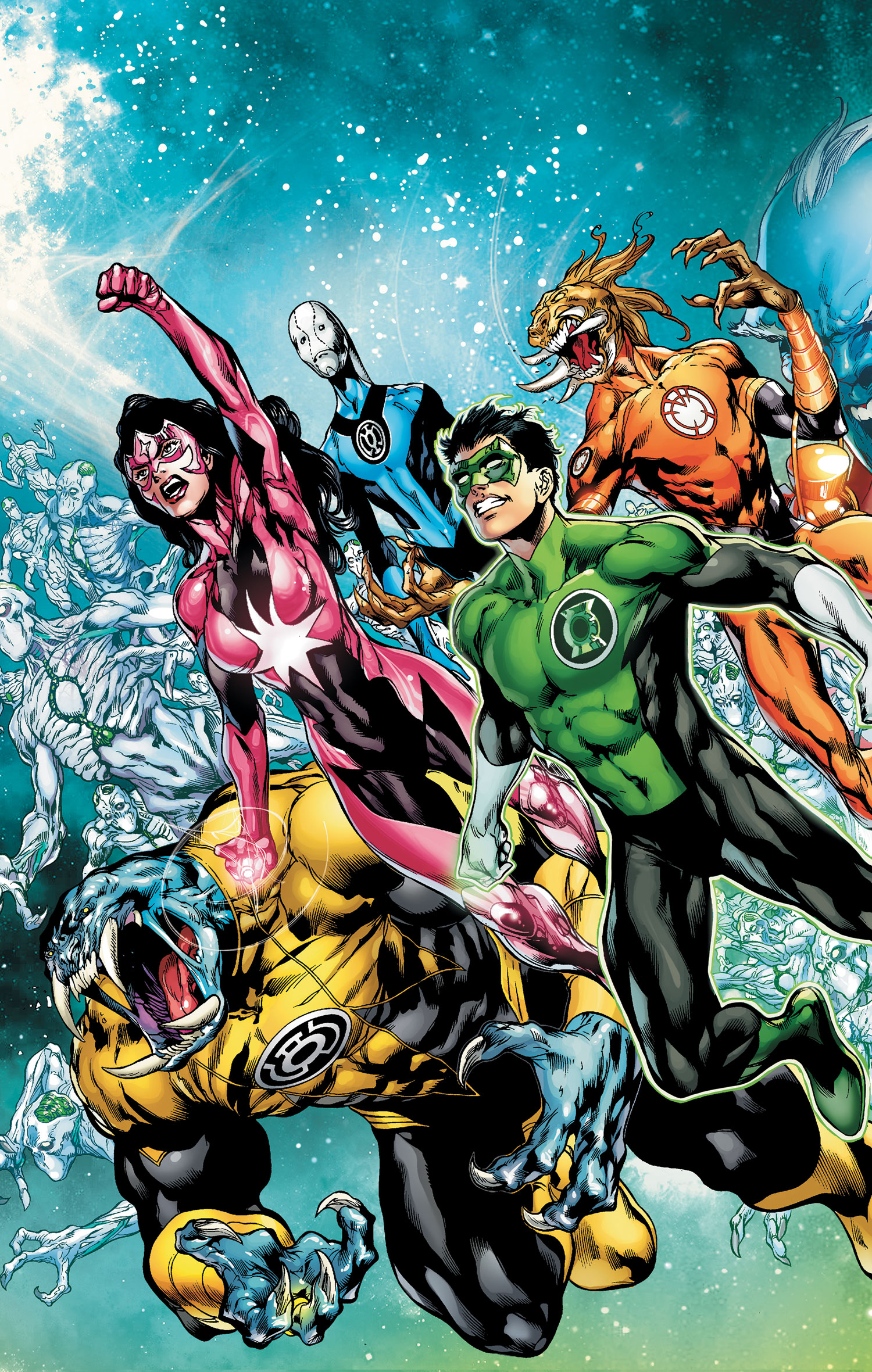 Green Lantern: Rise of the Third Army (Collected)