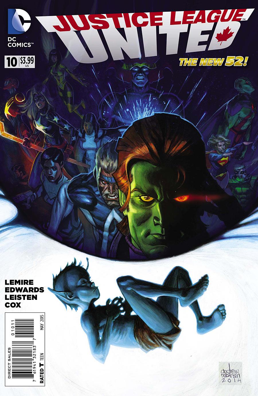 Justice League United Vol 1 10