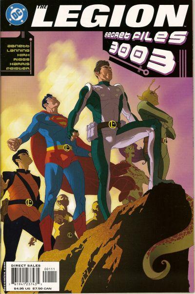 The Legion Secret Files Vol 1 3003