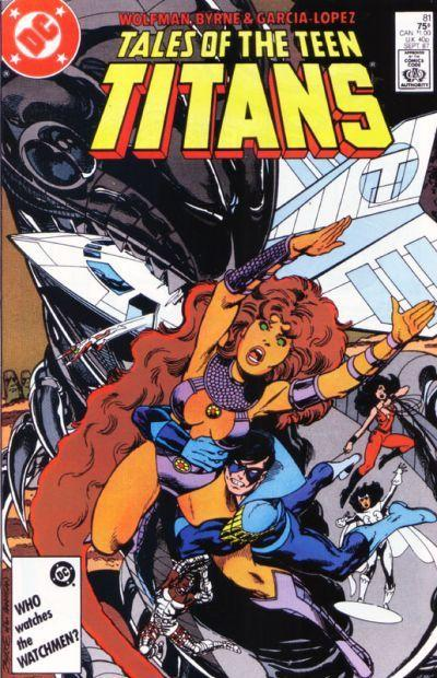 Tales of the Teen Titans Vol 1 81