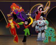 Teen Titans DC Super Friends 0001