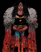 Wonder Woman Dead Earth Vol 1 2 Textless Variant