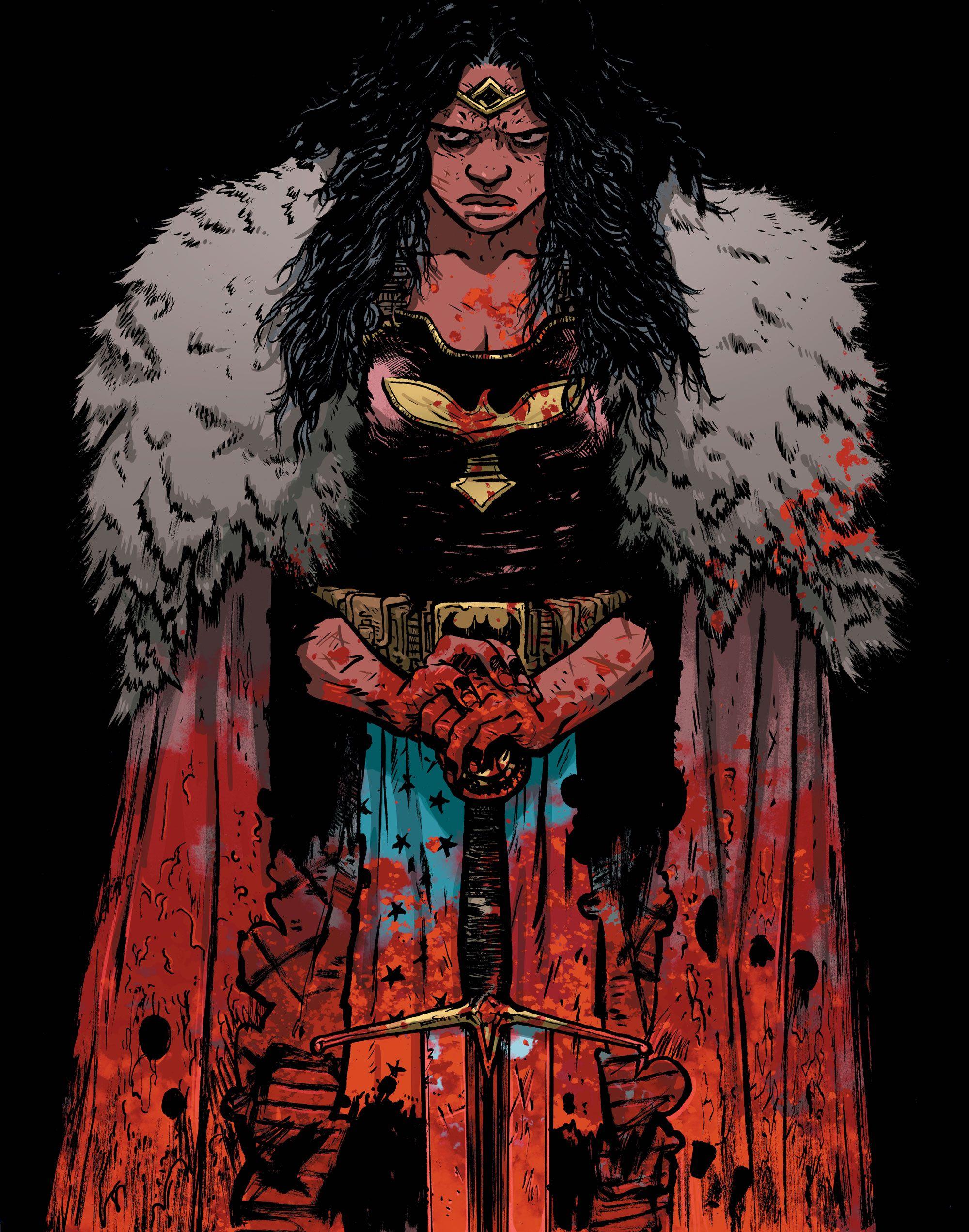 Diana of Themyscira (Wonder Woman: Dead Earth)