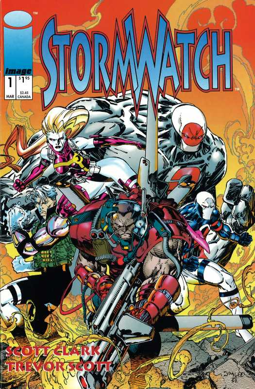 StormWatch Vol 1 1