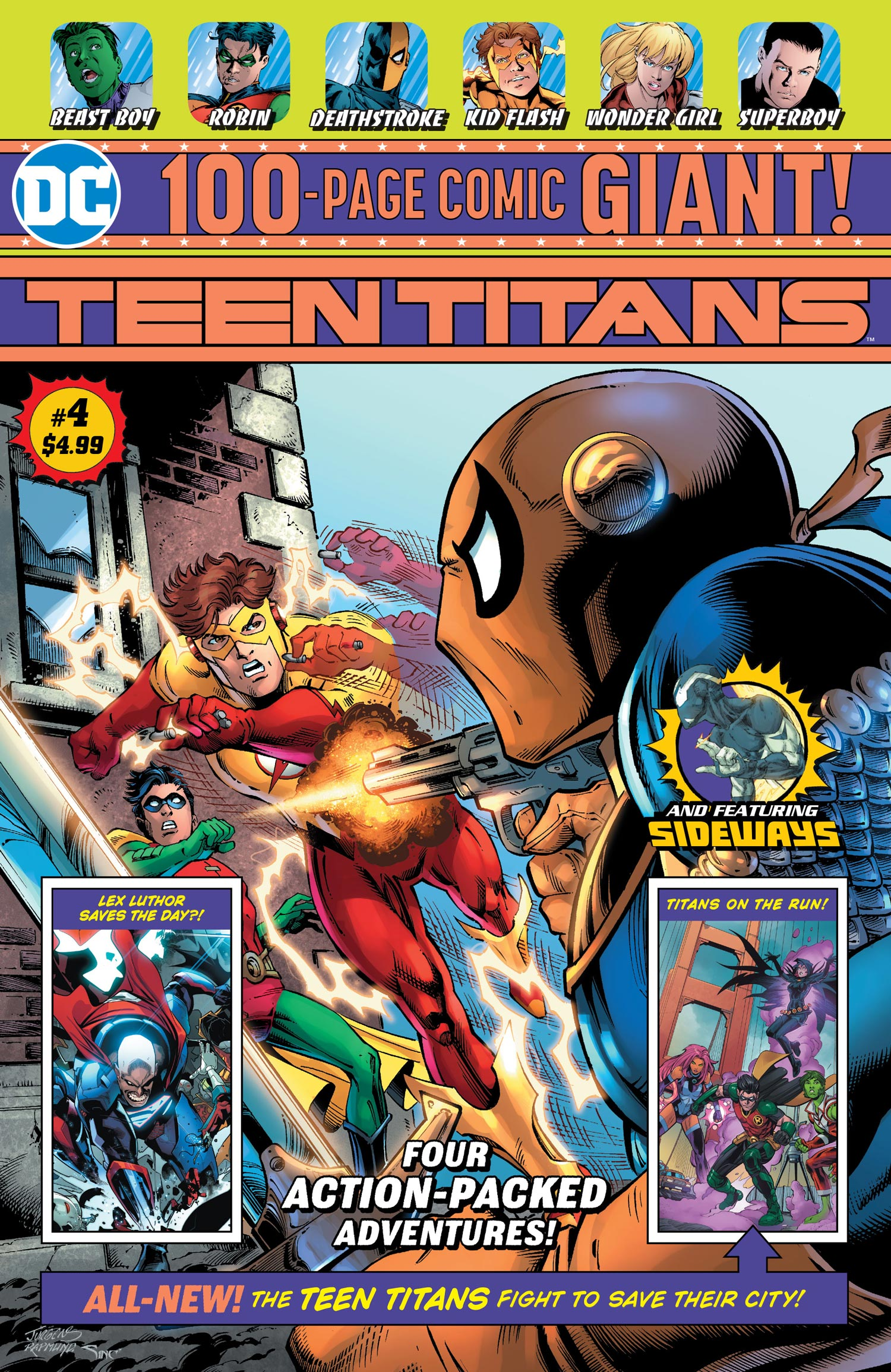 Teen Titans Giant Vol 1 4