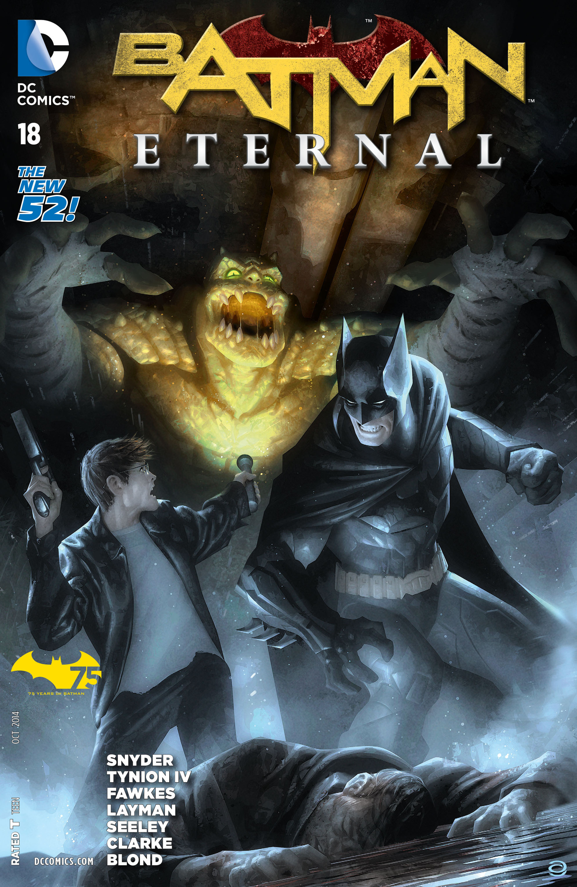 Batman Eternal Vol 1 18