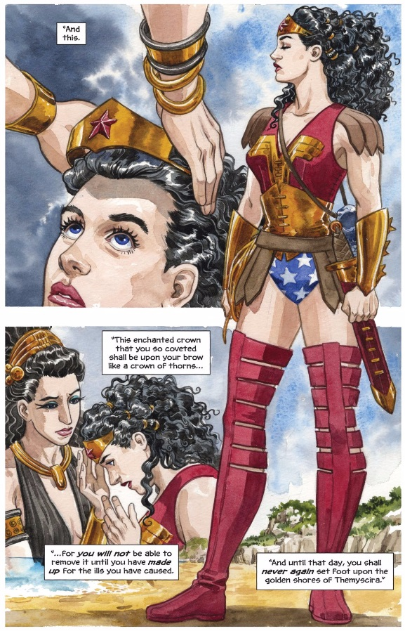 Diana of Themyscira (The True Amazon)