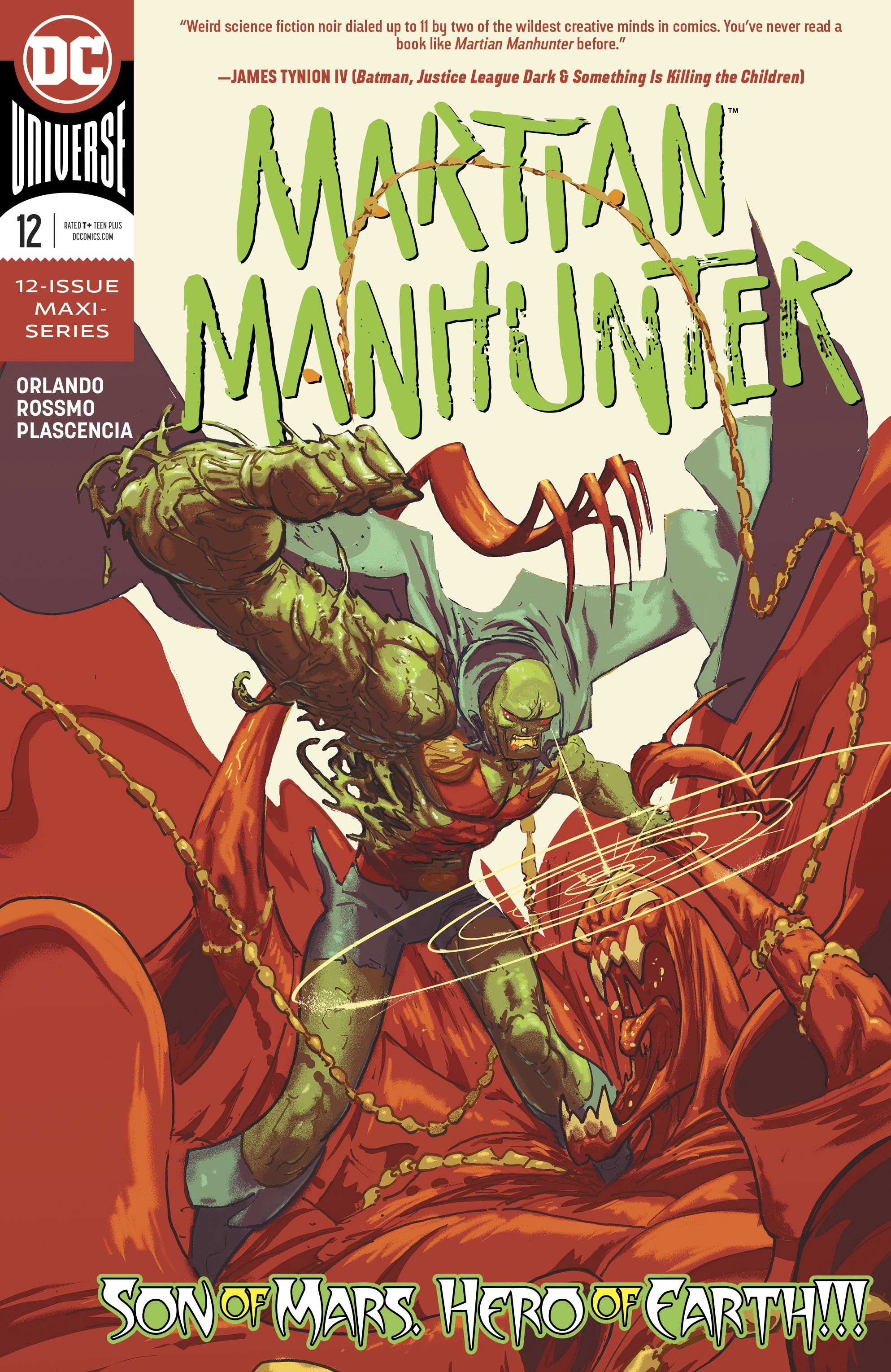 Martian Manhunter Vol 5 12