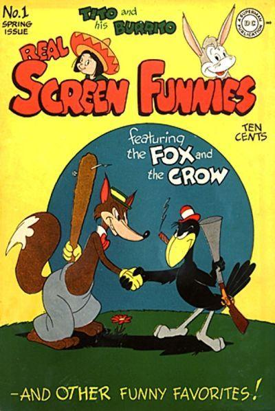Real Screen Comics Vol 1