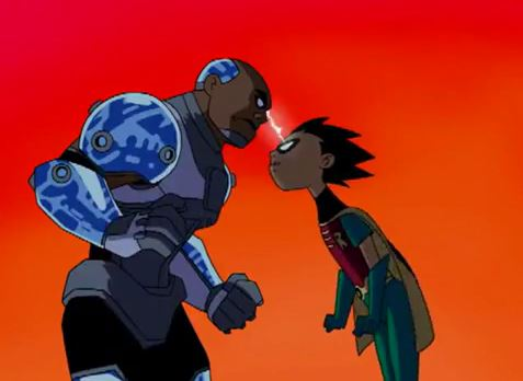 Teen Titans (TV Series) Episode Divide and Conquer.JPG