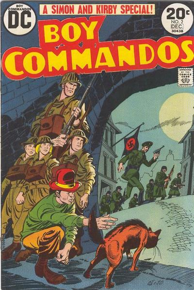 Boy Commandos Vol 2 2