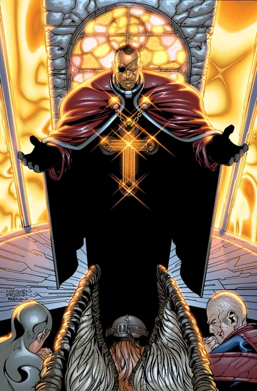 Chaplain Action (Wildstorm Universe)
