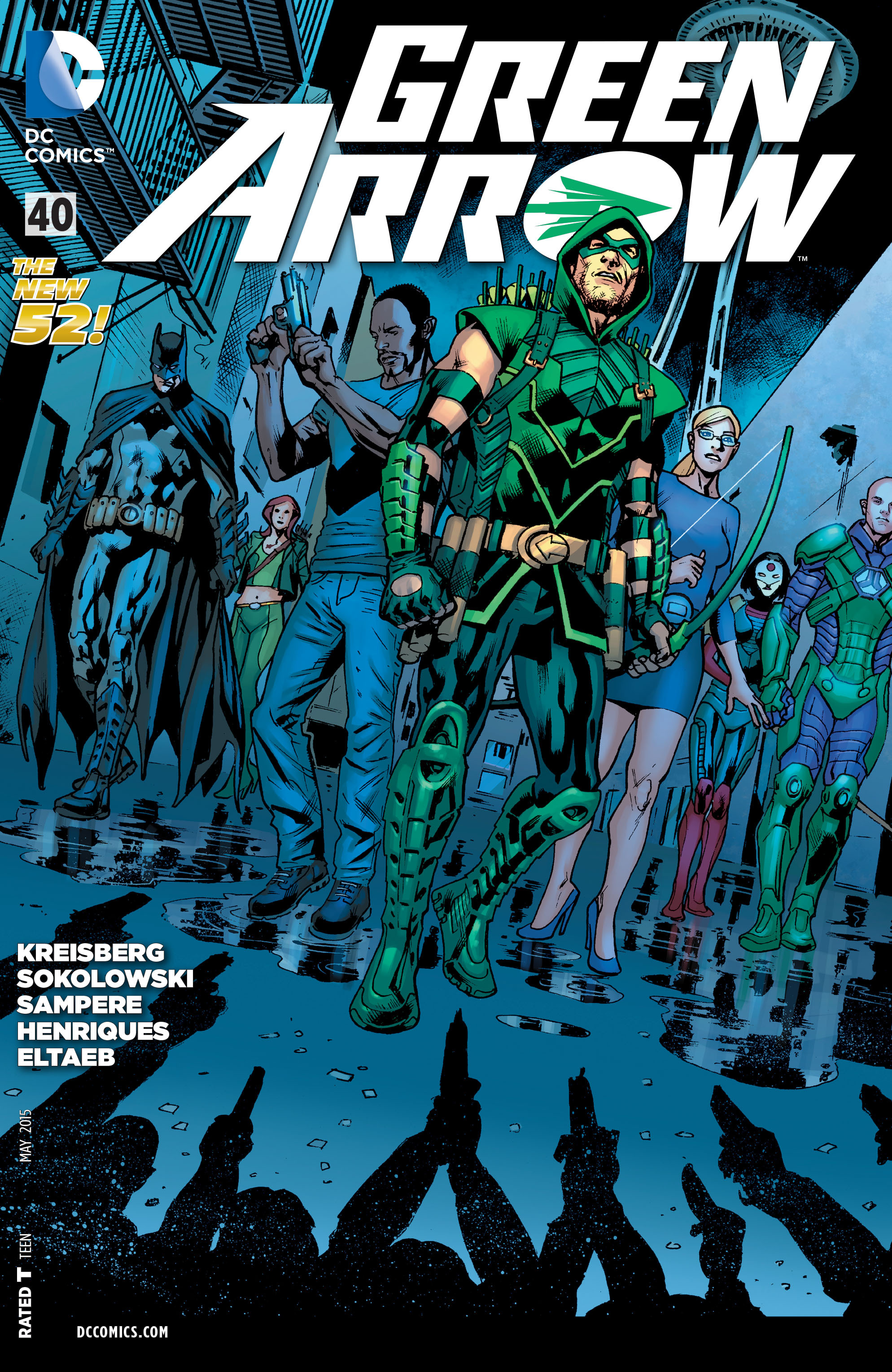 Green Arrow Vol 5 40