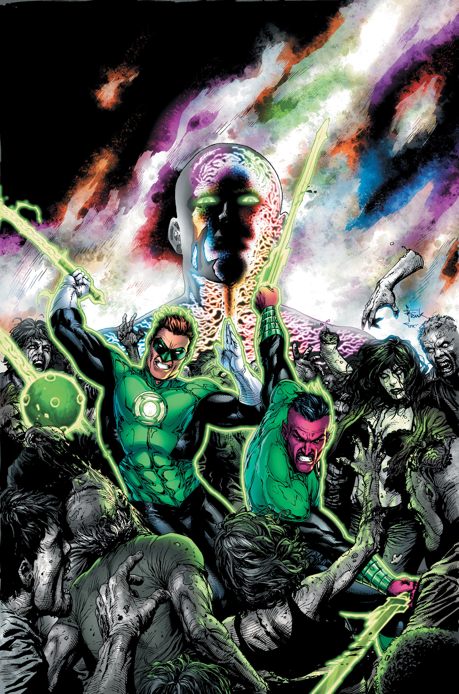 Green Lantern: Wrath of the First Lantern (Collected)