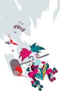 Harley Quinn Vol 2 18 Textless Teen Titans Go! Variant