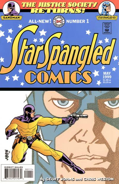 JSA Returns: Star-Spangled Comics Vol 1 1