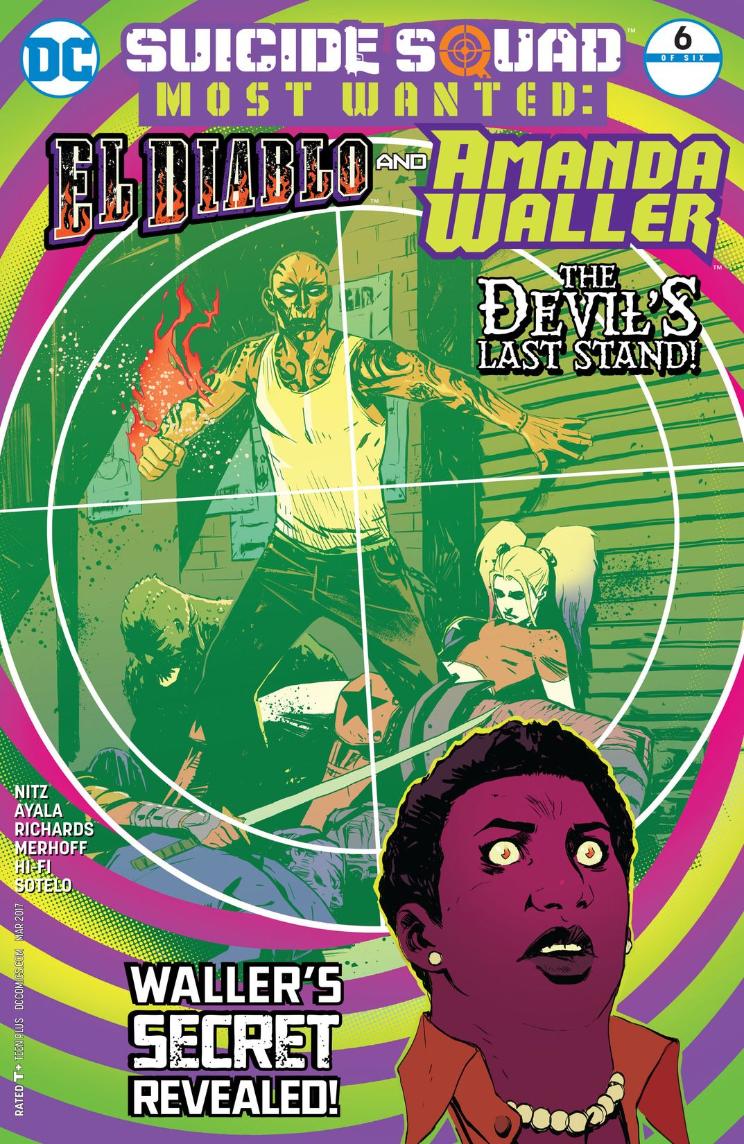 Suicide Squad Most Wanted: El Diablo and Amanda Waller Vol 1 6