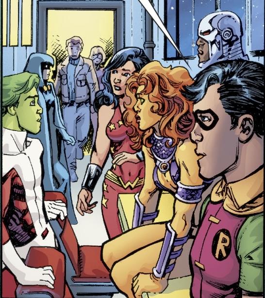 Teen Titans (Dark Multiverse: Teen Titans: The Judas Contract)