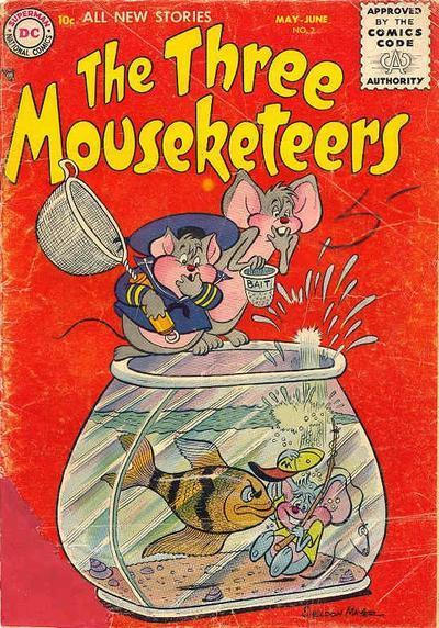 The Three Mouseketeers Vol 1 2