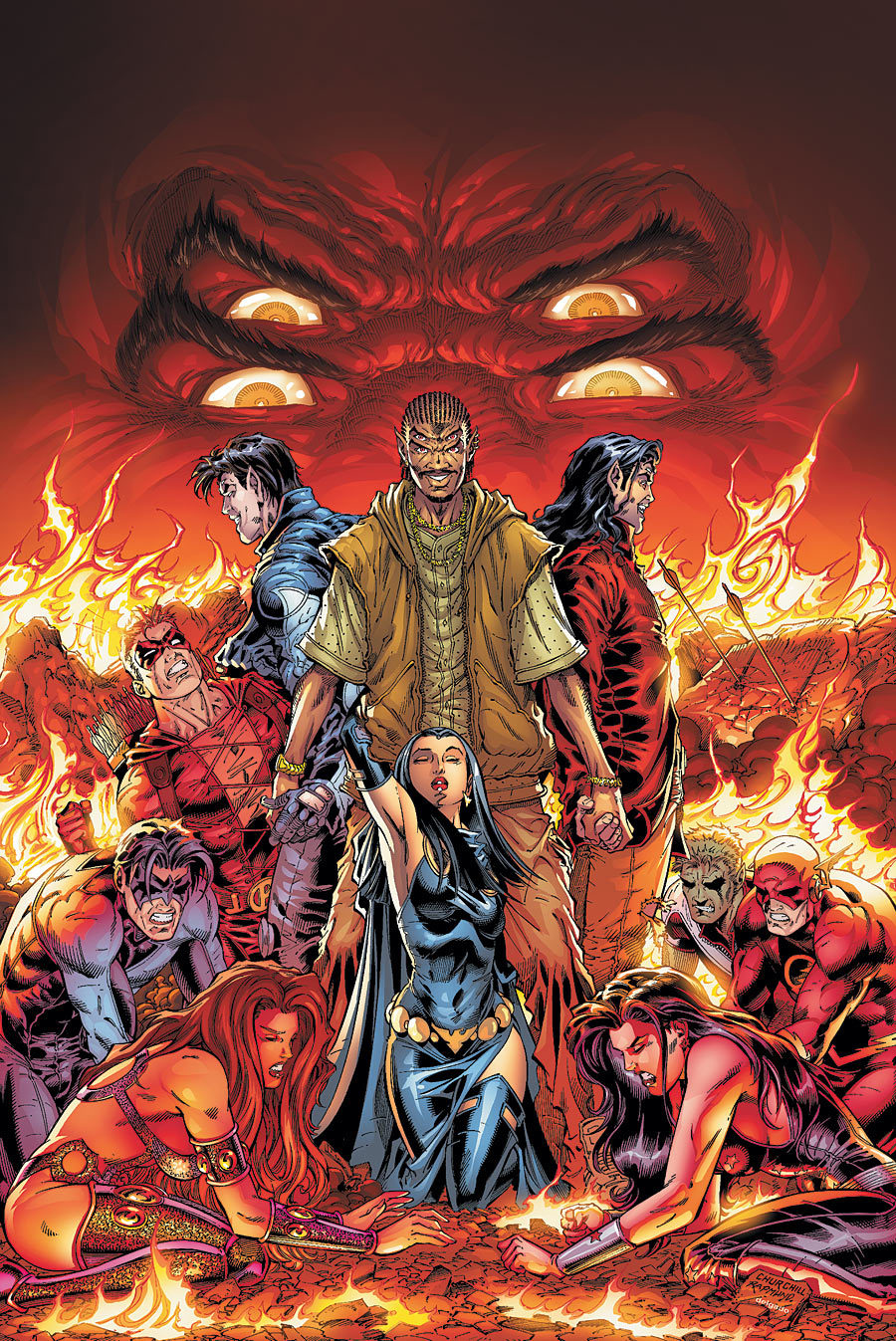 Sons of Trigon (New Earth)