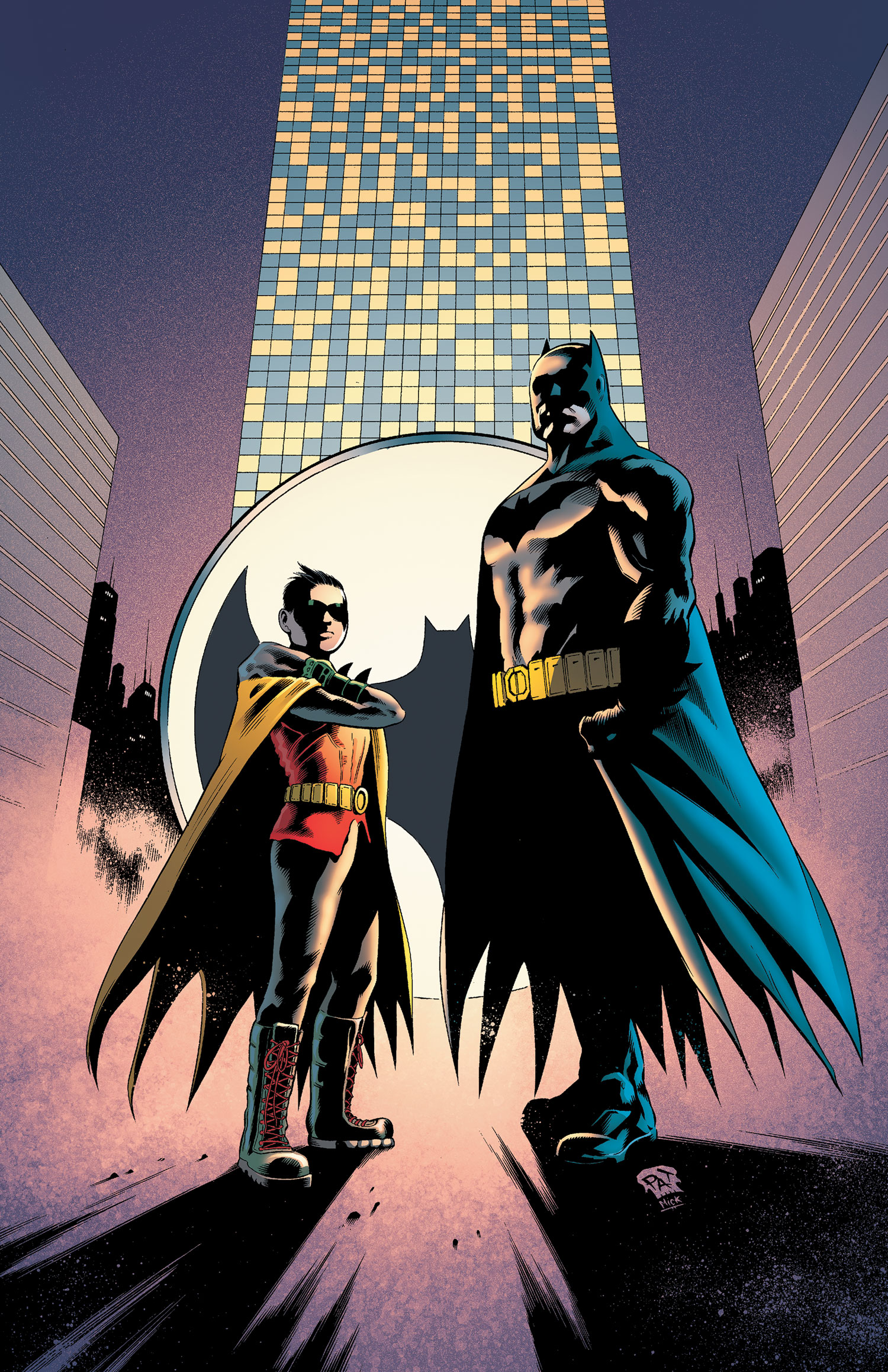 Batman and Robin Vol 2 17 Textless.jpg