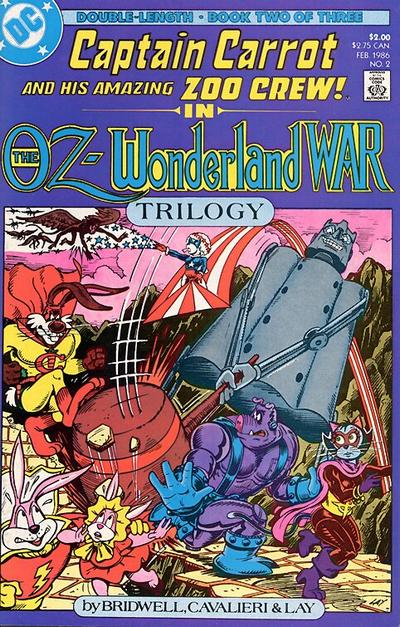 Captain Carrot and His Amazing Zoo Crew: The Oz-Wonderland War Vol 1 2