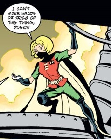 Stephanie Brown (World Without Young Justice)