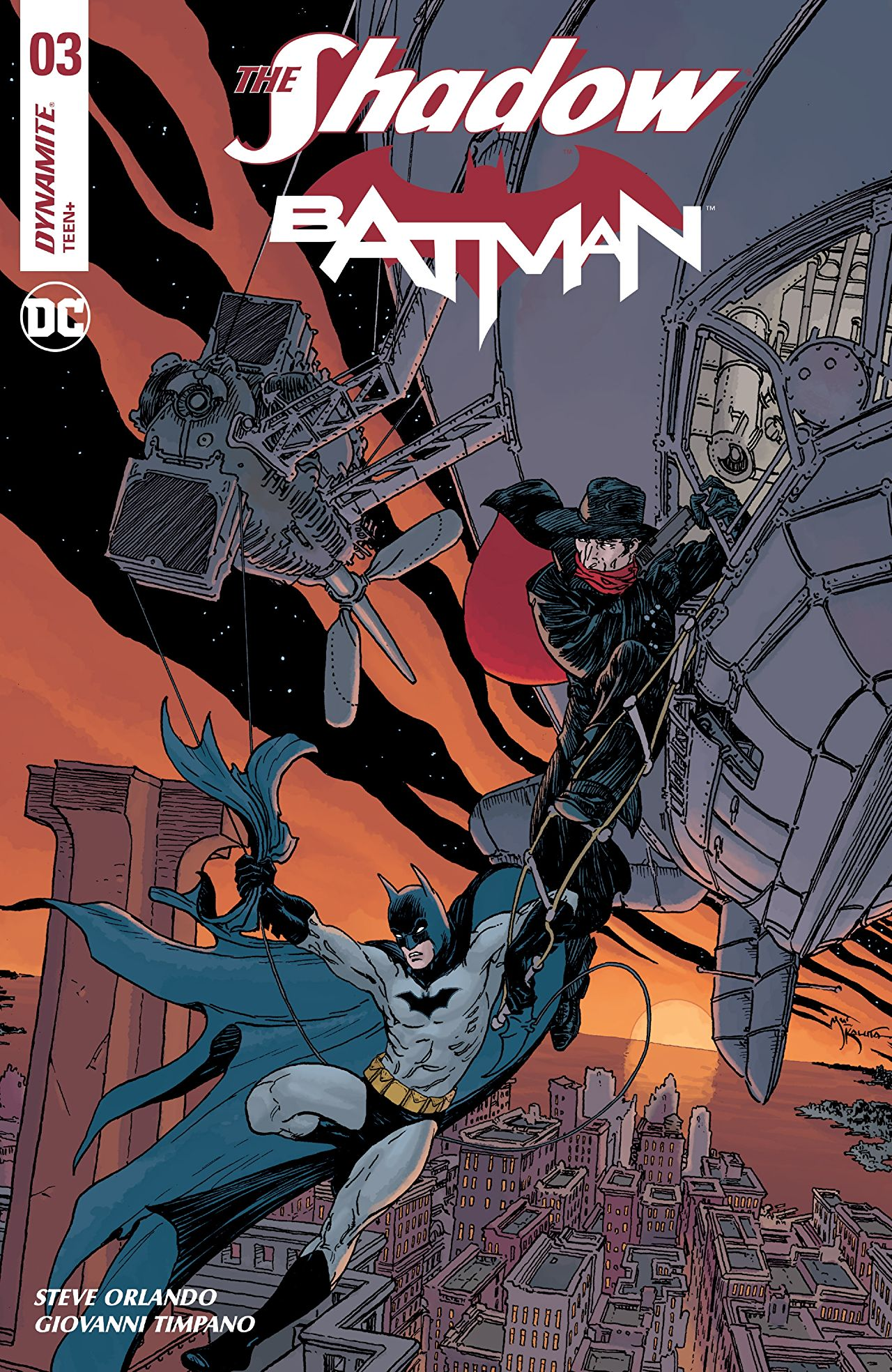 The Shadow/Batman Vol 1 3
