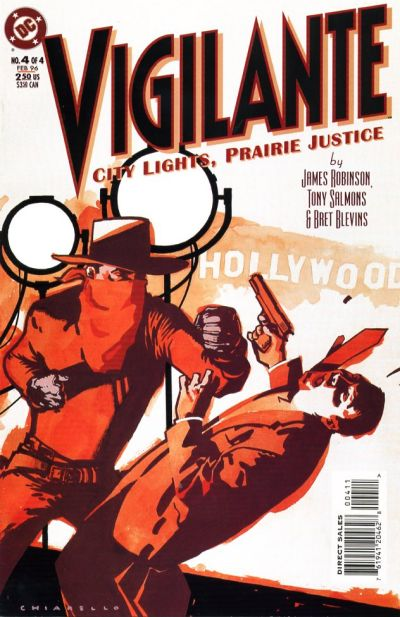 Vigilante: City Lights, Prairie Justice Vol 1 4