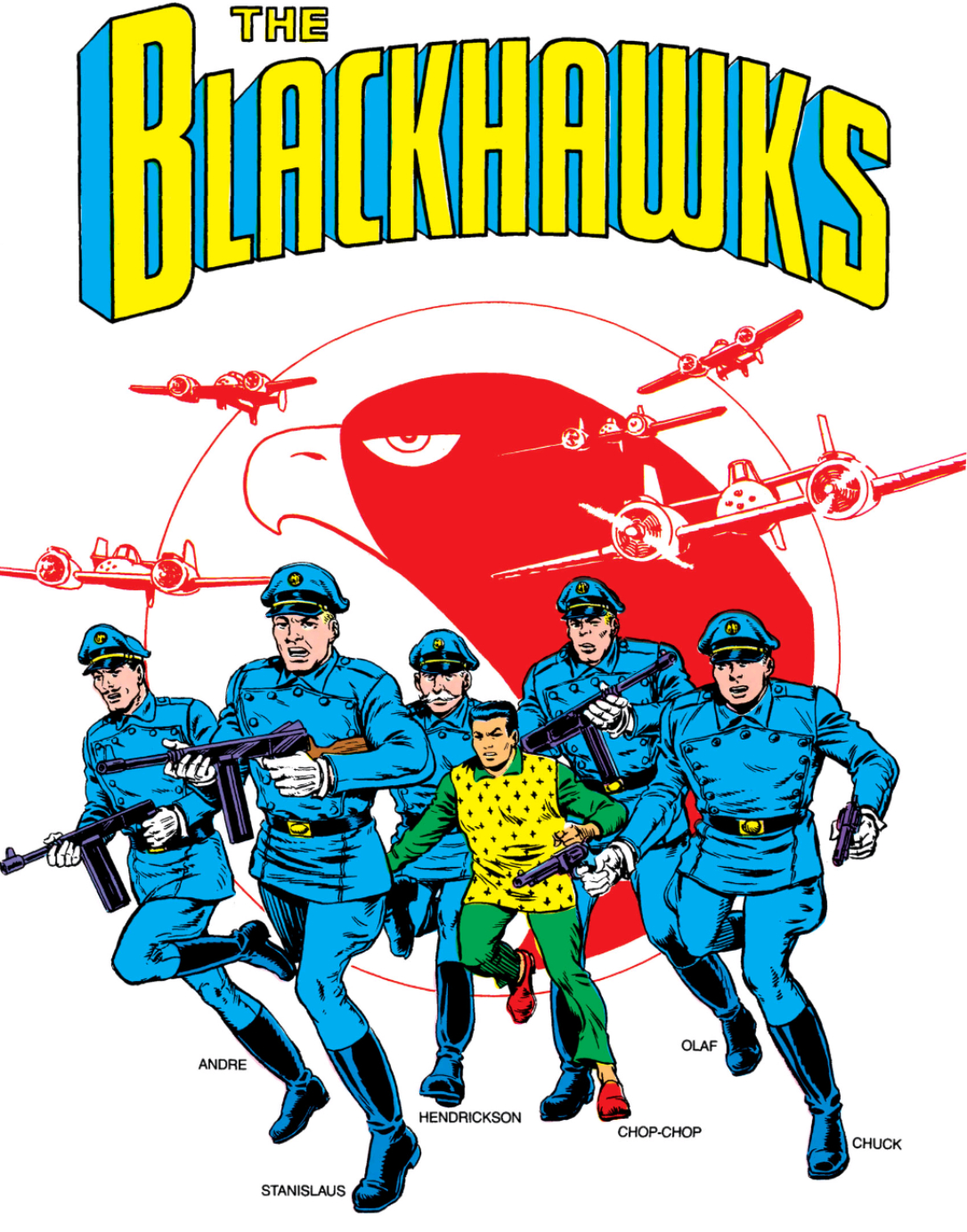 Blackhawk Squadron (Earth-One)/Gallery