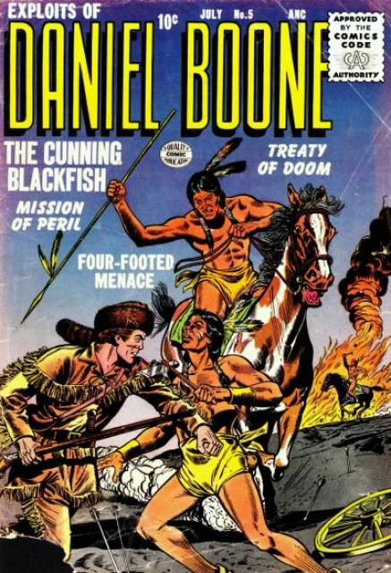 Exploits of Daniel Boone Vol 1 5