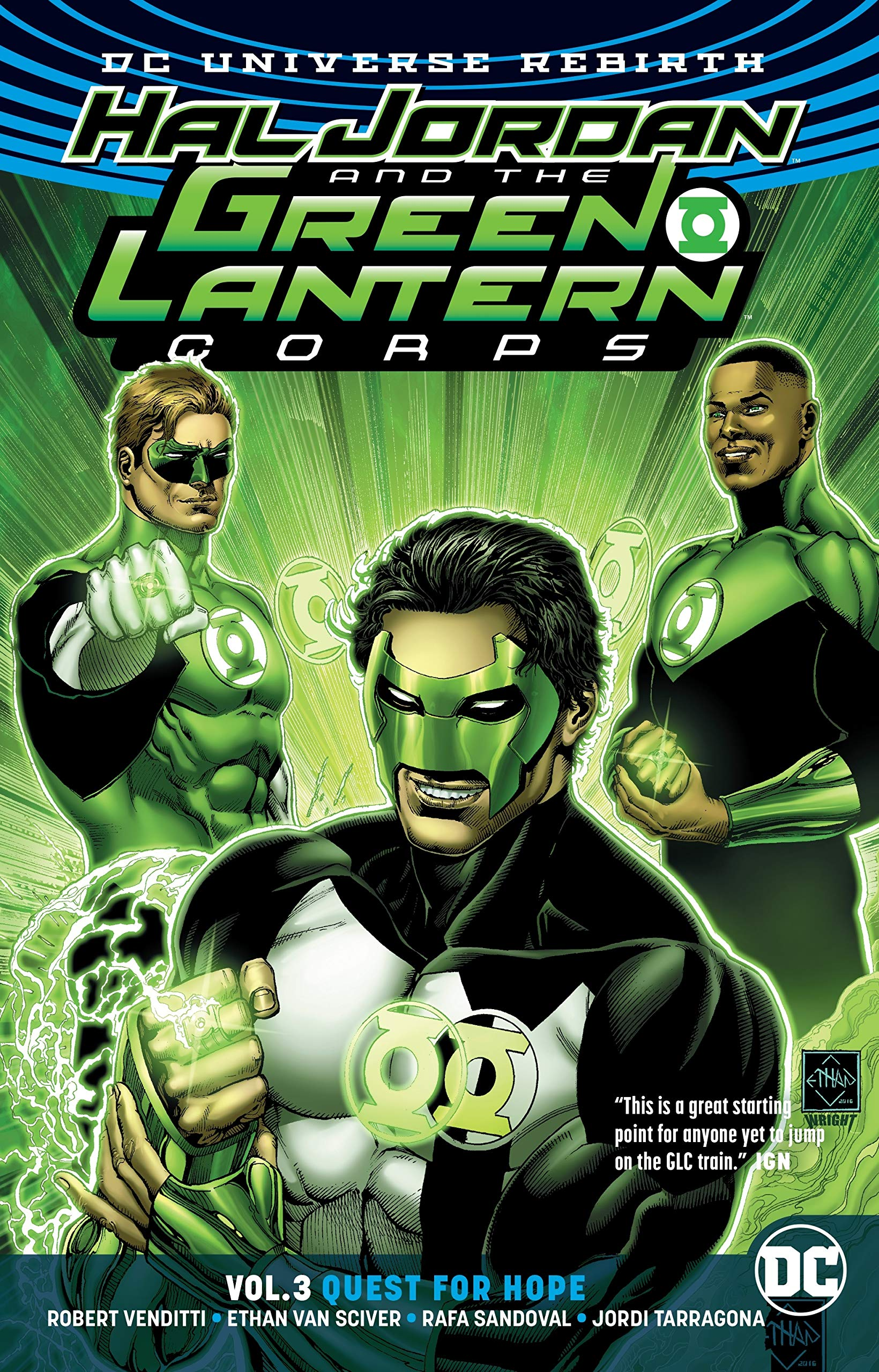 Hal Jordan and the Green Lantern Corps: Quest for the Blue Lanterns (Collected)