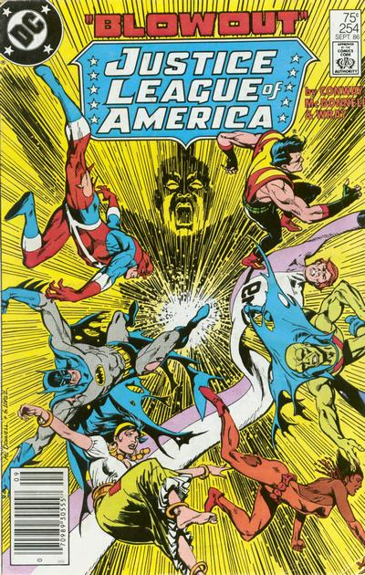 Justice League of America Vol 1 254
