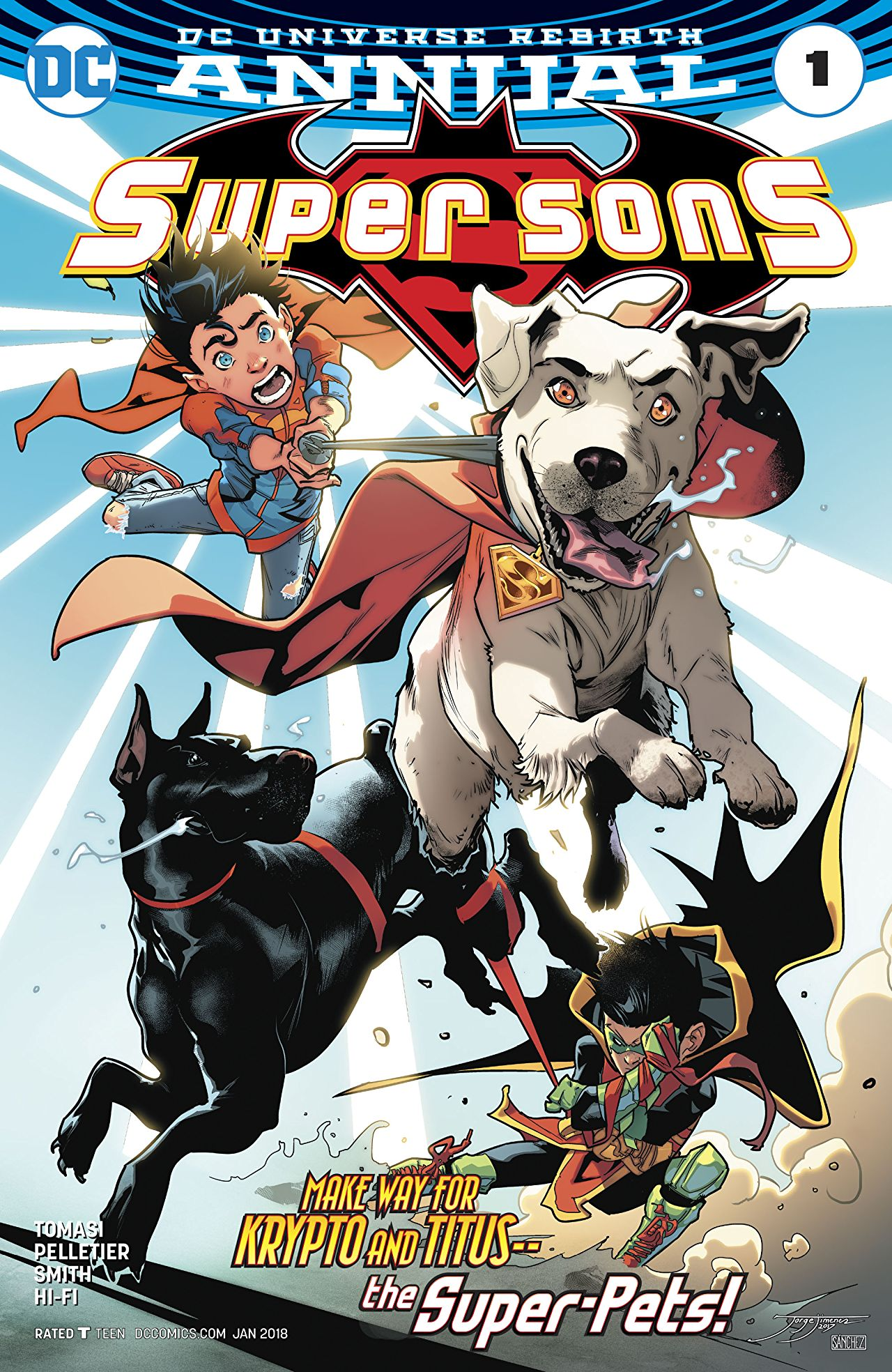 Super Sons Annual Vol 1 1