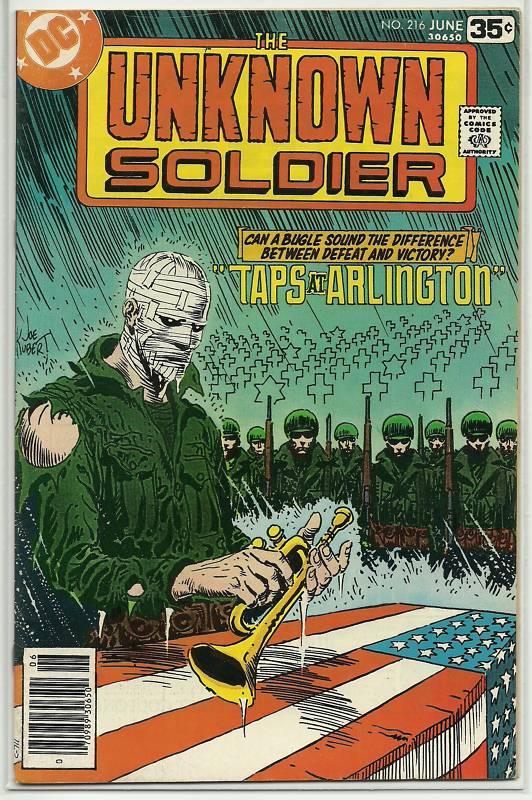 Unknown Soldier Vol 1 216
