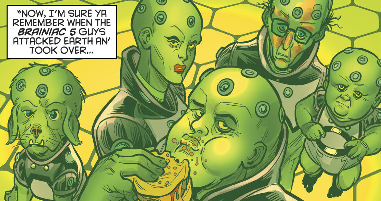 Brainiac 5 (Old Lady Harley)