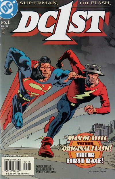 DC First: Flash/Superman Vol 1 1
