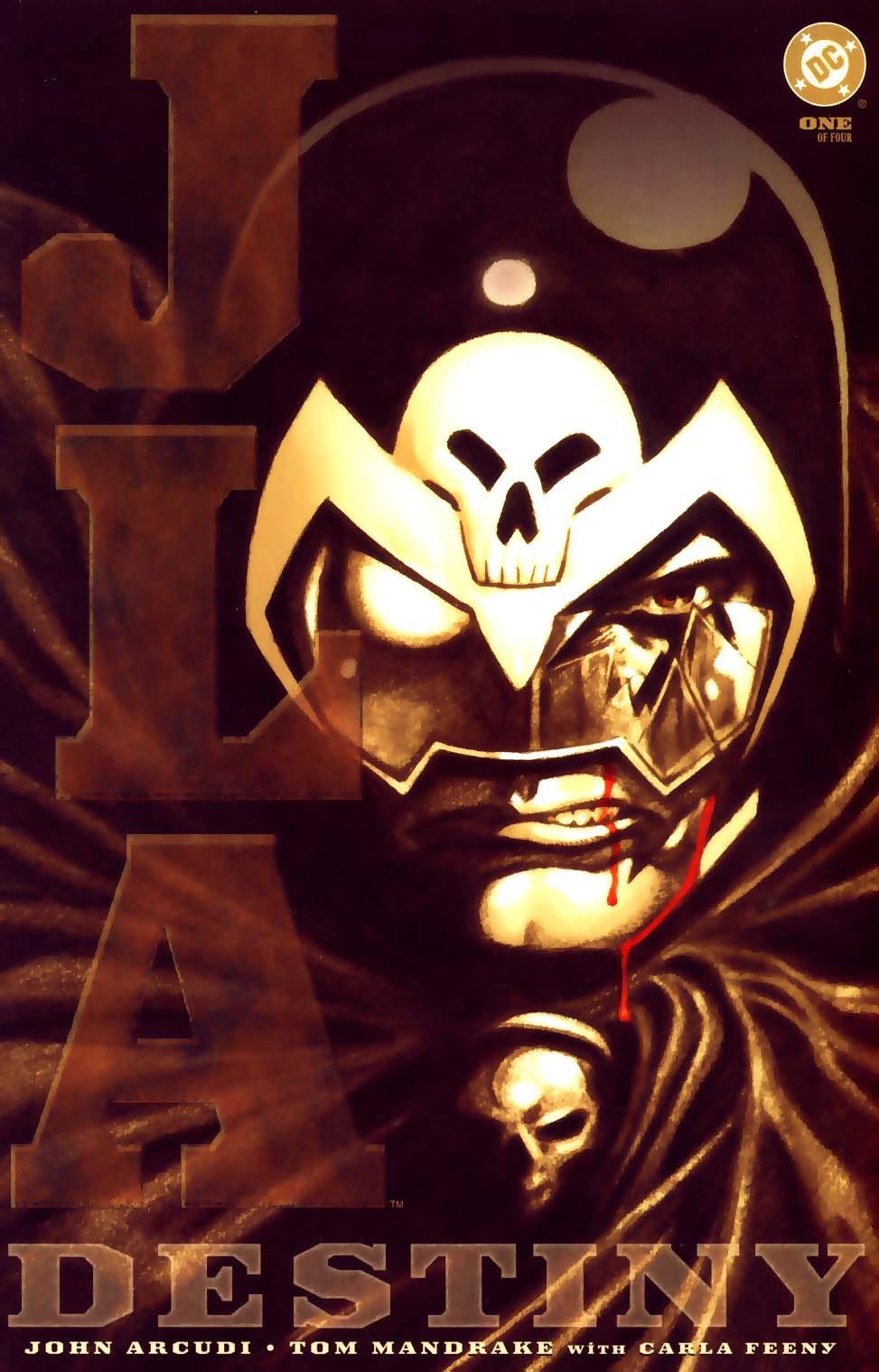 JLA: Destiny Vol 1 1
