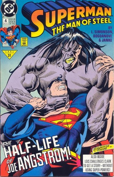 Superman: The Man of Steel Vol 1 4