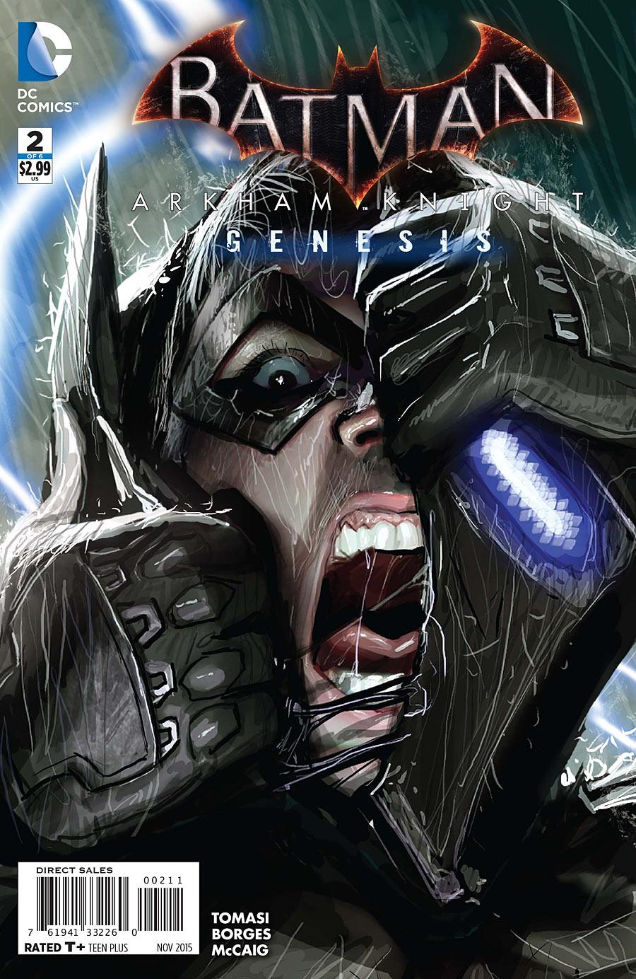 Batman: Arkham Knight - Genesis Vol 1 2