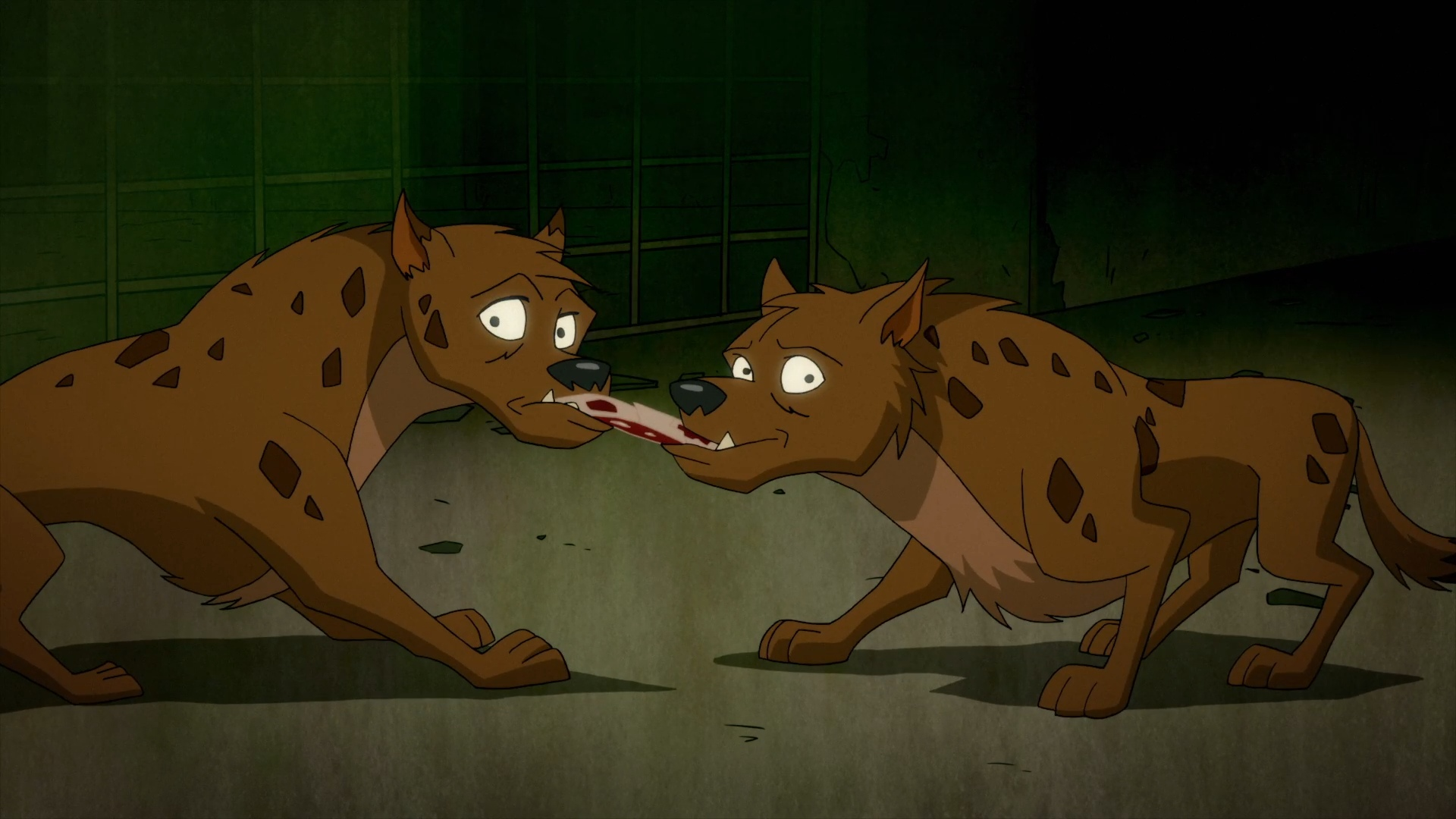 Bud and Lou the Hyenas (Harley Quinn TV Series)