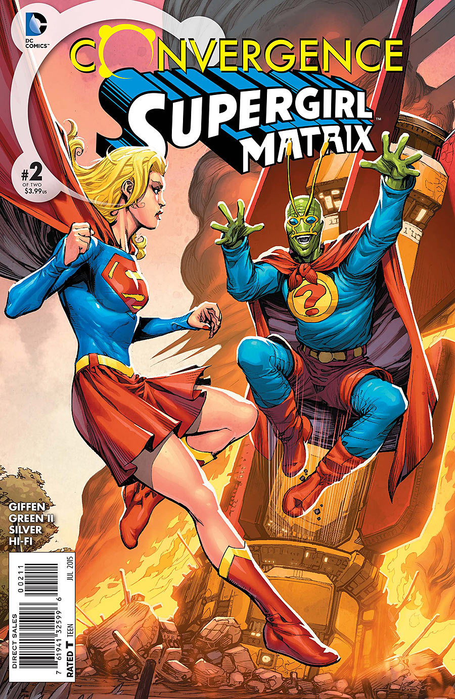 Convergence: Supergirl: Matrix Vol 1 2