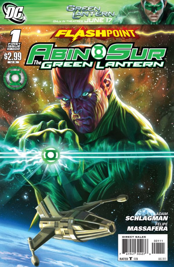 Flashpoint: Abin Sur - The Green Lantern Vol 1