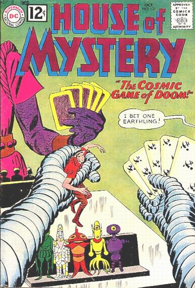 House of Mystery Vol 1 127