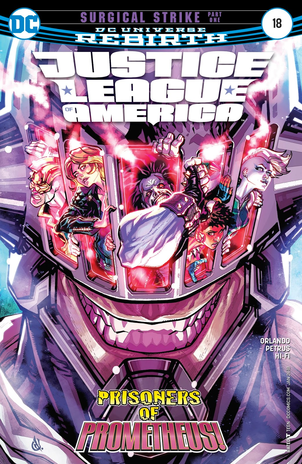 Justice League of America Vol 5 18