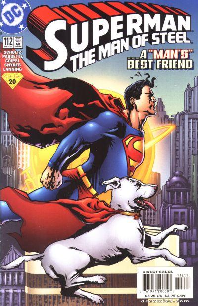 Superman: The Man of Steel Vol 1 112